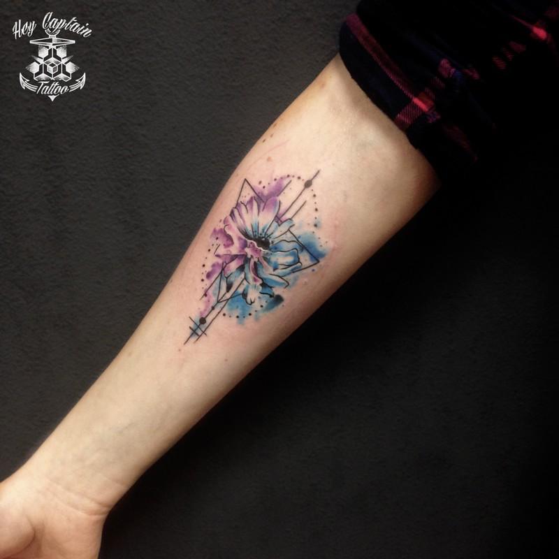 Тату цветы эскизы - лучшие рисунки для татуировки с цветами