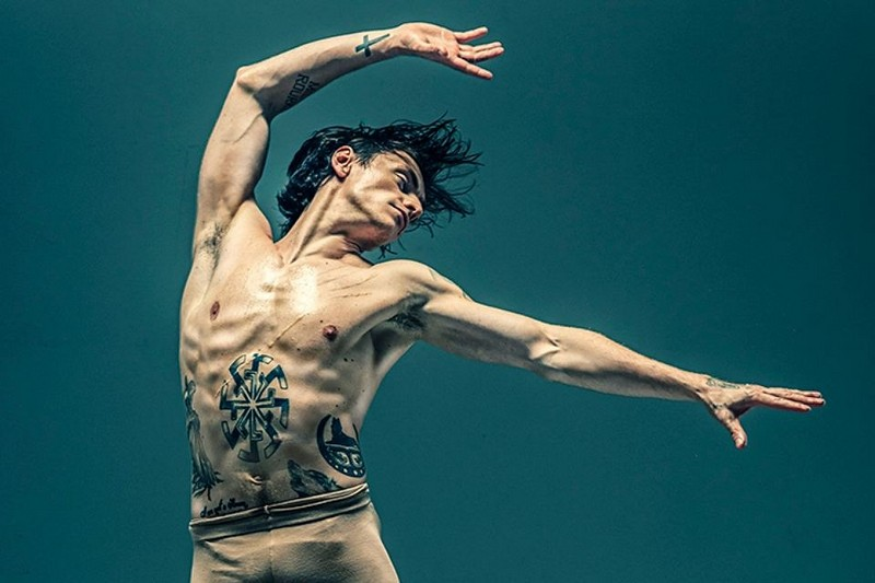 Татуировка в танце Сергея Полунина фото 1