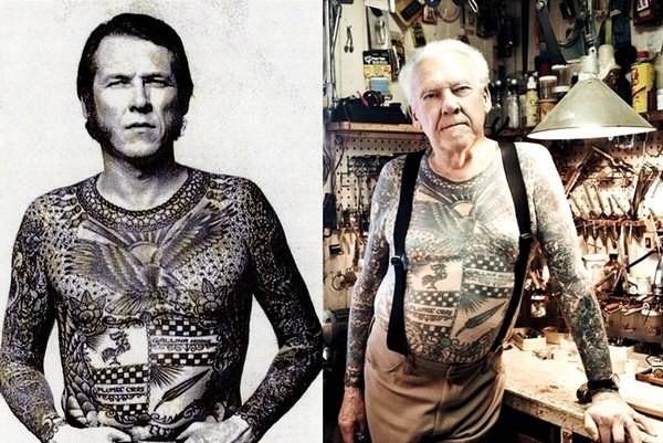 Как ты будешь выглядеть с тату в старости фото 1