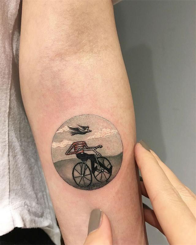 Миниатюрные татуировки фото 1