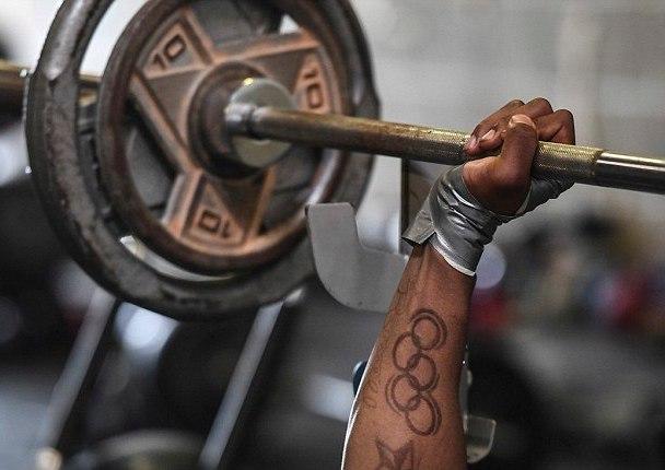 Спортивная татуировка